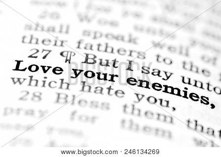 Scriptures from the Bible spirit learning gospel truth spirituality love yoiur enemies