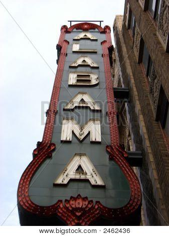 Alabama Theater Sign