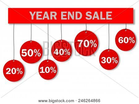 Year End Sale Poster