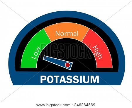 Potassium level indicator