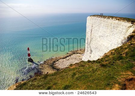 Cliff And Lighthouse