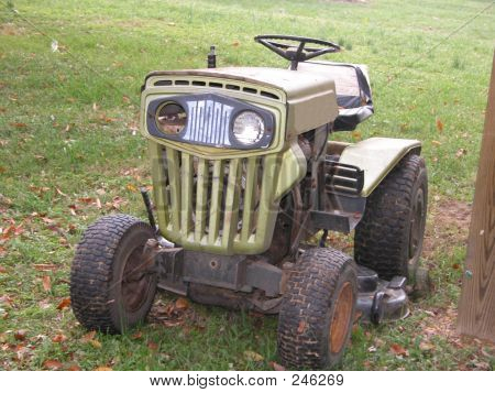 Old Lawn Tractor