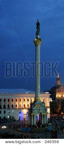 Independency Monument, Kyiv (kiev) Ukraine