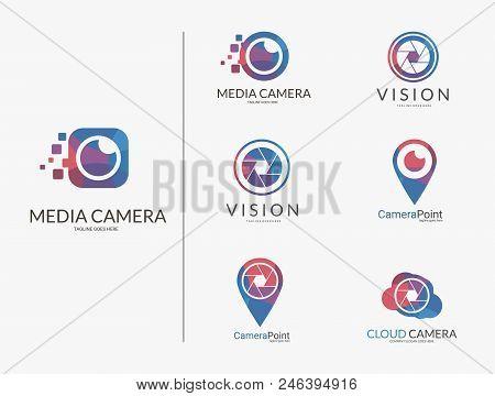 Camera_logos_set