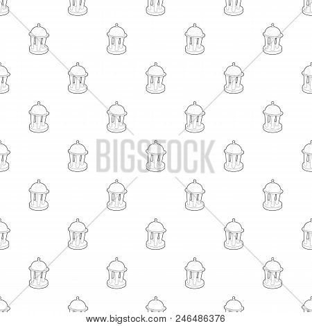 Rotunda Pattern Vector Seamless Repeating For Any Web Design