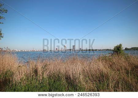 Area Around The Zevenhuizerplas, A Lake Between Oud Verlaat And Rotterdam Nesselande.