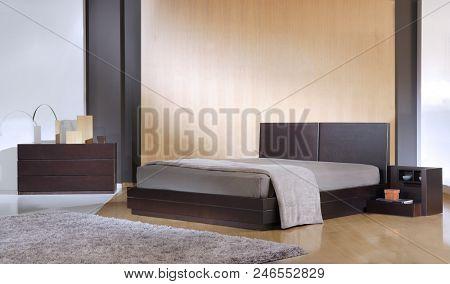 Wooden furniture Modern Bedroom
