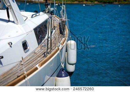 luxury yacht in Italy
