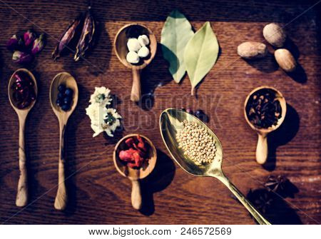 Cooking spices seasoning