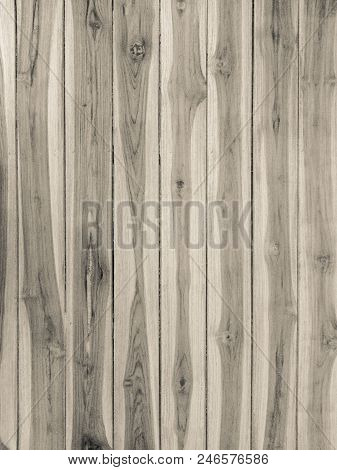 Old Wood Texture With Natural Pattern Background, Vintage