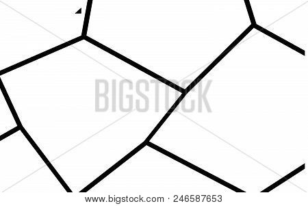 Black and White Irregular Grid, Modular Structure Mesh Pattern, Abstract Monochrome Geometric Polygon Texture, Photo Mosaic Template,  Photo Collage Background poster