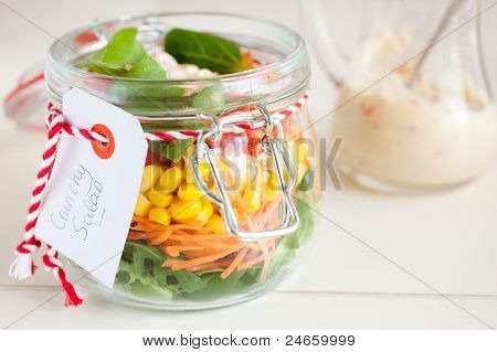 Easy Take Away For A Picnic Salad