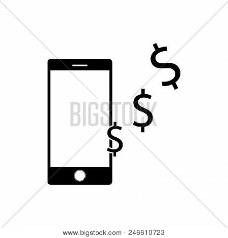 Mobile Payment Set Isolated Vector Illustration Flat Style For Web
