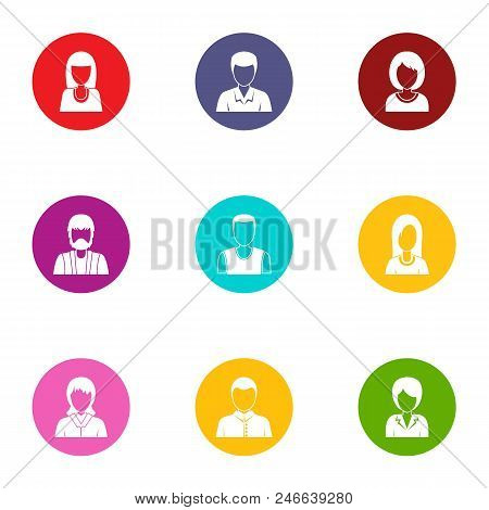 Customization Icons Set. Flat Set Of 9 Customization Vector Icons For Web Isolated On White Backgrou