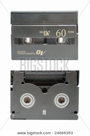The Two Sides Of Mini Dv Cassette