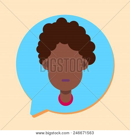 Callcenter Woman Support Online Operator, Customer And Technical Service Icon, Chat Concept, Flat De