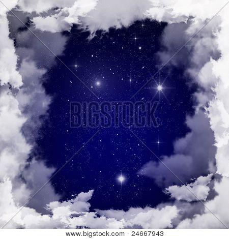 star and sky