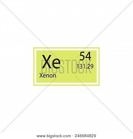 Periodic table element xenon icon vector photo bigstock periodic table element xenon icon element of chemical sign icon premium quality graphic design urtaz Choice Image