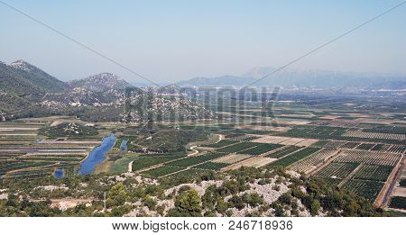 View Of The Fields Of The Croatia