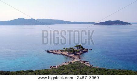 View Of The Island Of The. Croatia, Southern Dalmatia