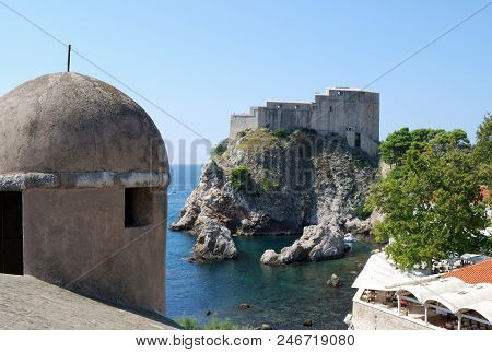 View Of The Dubrovnik. Croatia, Southern Dalmatia
