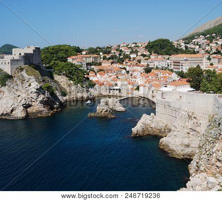 View Of The Dubrovnik City. Croatia, Southern Dalmatia