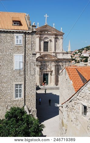 View Of The City Of Dubrovnik. Croatia, Southern Dalmatia