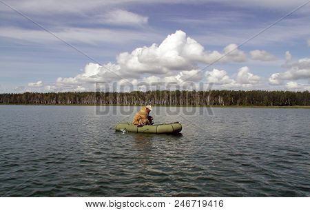 Lake Chani In The Novosibirsk Region, Russia, August 2007