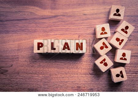 Human Resources Plan Concept. Human Resources Planning Is Important Activity In Successful Business.