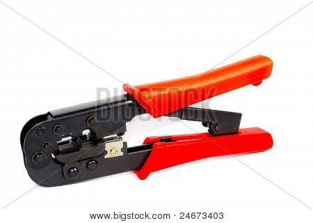 Crimper For Making Network Cable