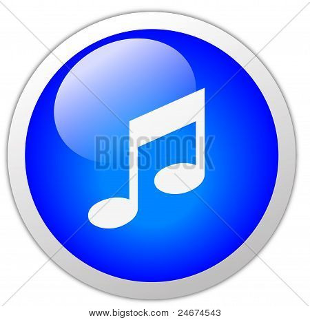 Music Icon Button