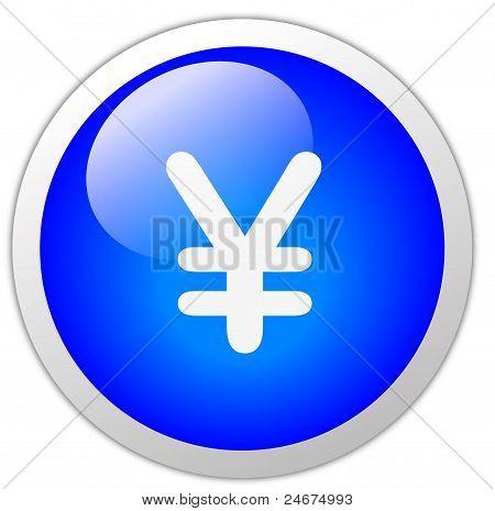 Yen Icon Button