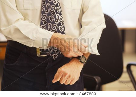 Rolling Up Of Sleeves
