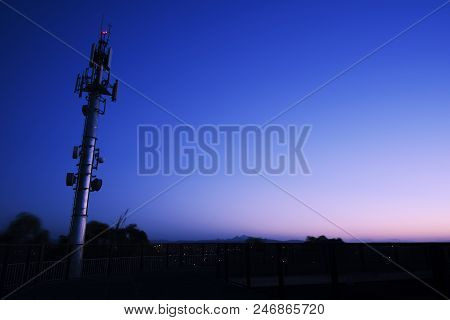 Large Radio And Communications Tower In Ipswich City, Queensland.