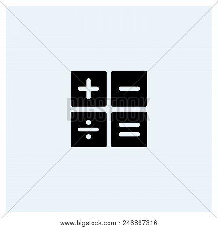 Calculator Icon Vector Icon On White Background. Calculator Icon Modern Icon For Graphic And Web Des