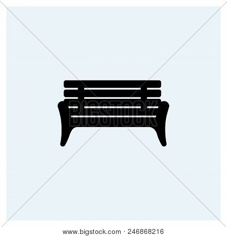 Bench Icon Vector Icon On White Background. Bench Icon Modern Icon For Graphic And Web Design. Bench