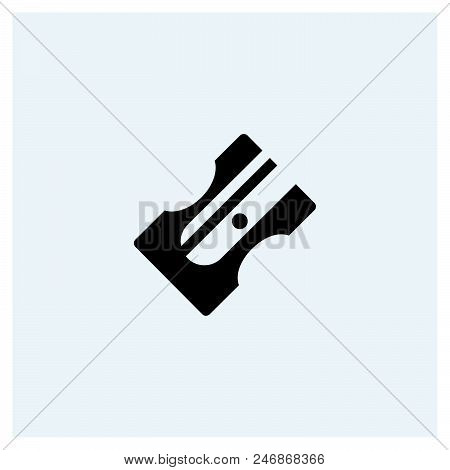 Sharpener Icon Vector Icon On White Background. Sharpener Icon Modern Icon For Graphic And Web Desig
