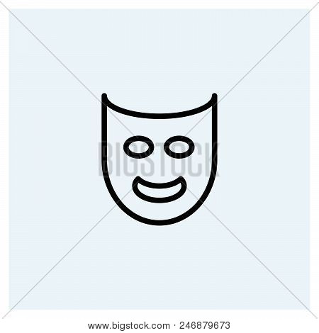Mask Icon Vector Icon On White Background. Mask Icon Modern Icon For Graphic And Web Design. Mask Ic