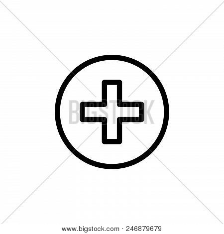 Pharmacy Vector Icon On White Background. Pharmacy Modern Icon For Graphic And Web Design. Pharmacy
