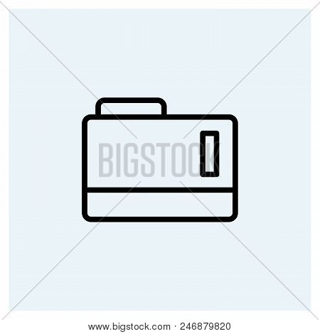 Folder Icon Vector Icon On White Background. Folder Icon Modern Icon For Graphic And Web Design. Fol