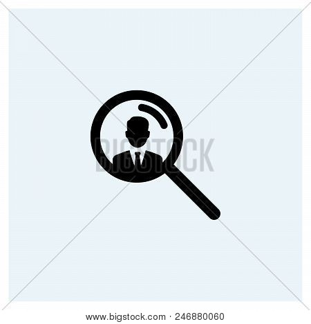 Hiring Icon Vector Icon On White Background. Hiring Icon Modern Icon For Graphic And Web Design. Hir