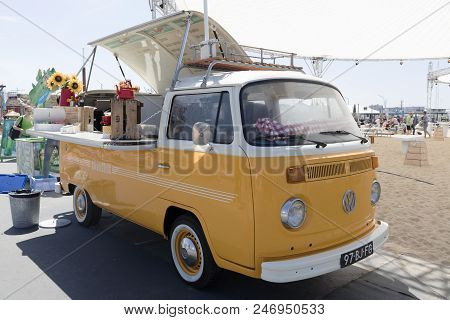 Volkswagen Foodtruck At A Festival