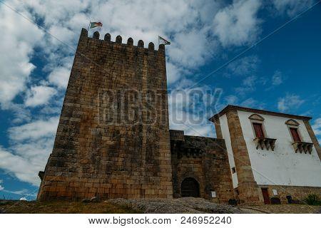 Belmonte Castle, Belmonte, Portugal, Birthplace Of 16th-century Portuguese Explorer Of New World, Pe