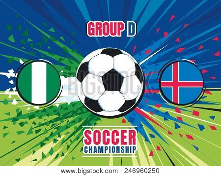 soccer championship vector photo free trial bigstock