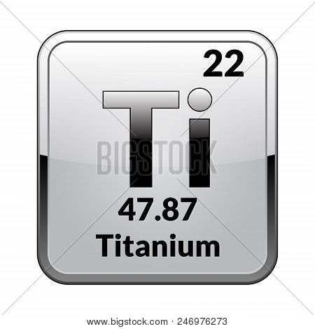 Titanium Symbol Vector Photo Free Trial Bigstock