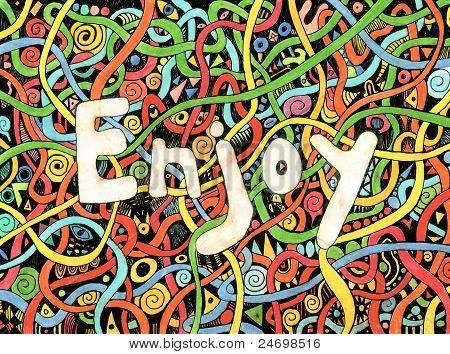 Enjoy text