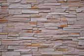 Pattern Material of Modern Brick Wall Surfaced poster
