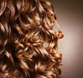 Curly Hair. Hairdressing. Wave .Natural Hair poster