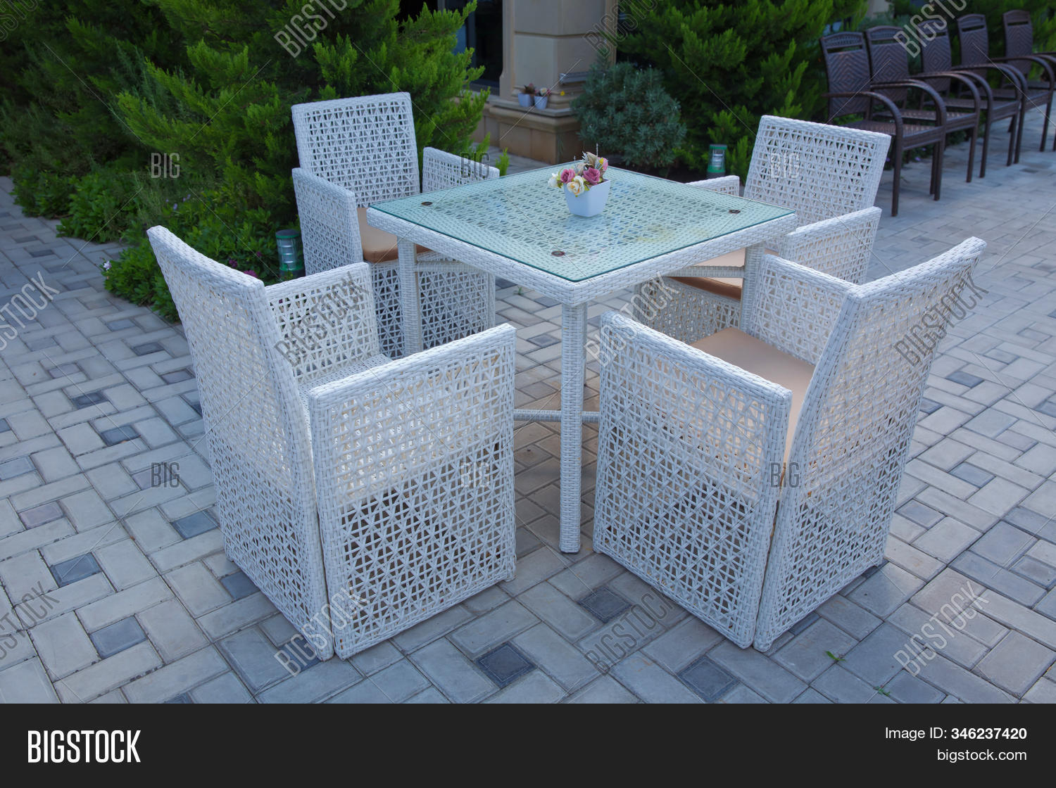 Chairs Tables Image Photo Free Trial Bigstock