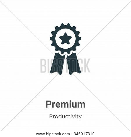 Premium icon isolated on white background from productivity collection. Premium icon trendy and mode